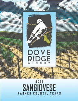 2018 Sangiovese - Parker County